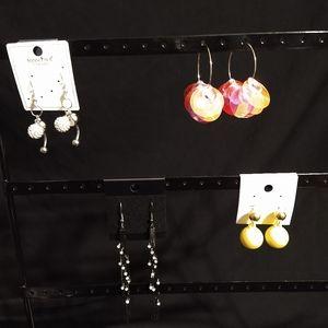 Women's jewelry earring bundle